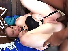 Teen fatty jumping on strong cock