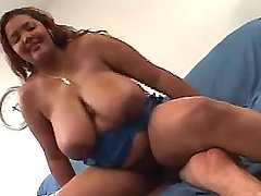 Exotic chubby chick dancing on dick