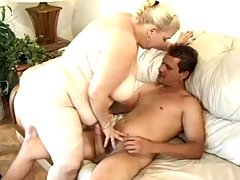 Attractive bbw gets boned hard