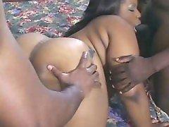 Big ebony prostitute satisfies men